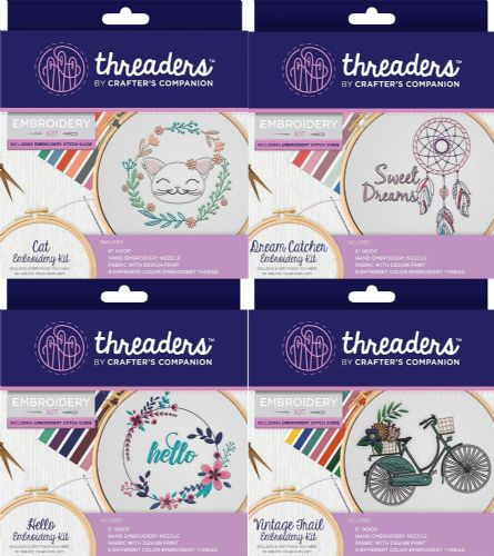 Threaders - Embroidery Kits